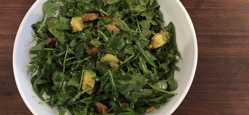 Arugula and Fig Salad