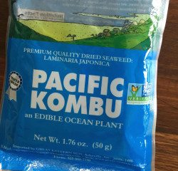 Make your beans easier to digest…add some KOMBU to your food!