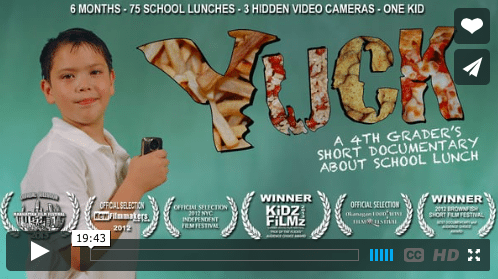 School Lunches…GREAT video!