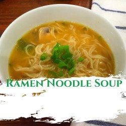Ramen Noodle Soup 3