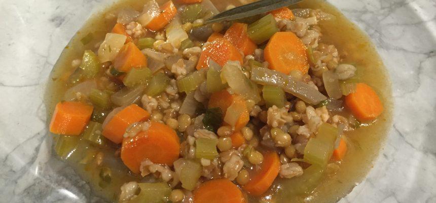 20-Minute Lentil Soup