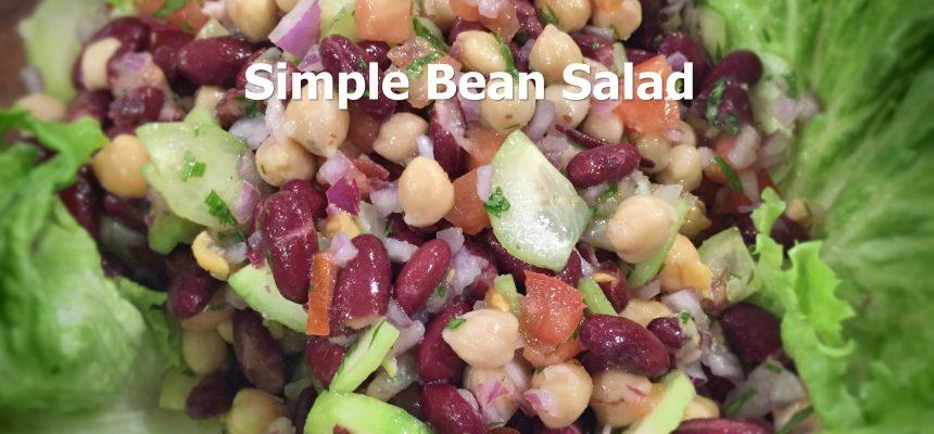 Simple Bean Salad